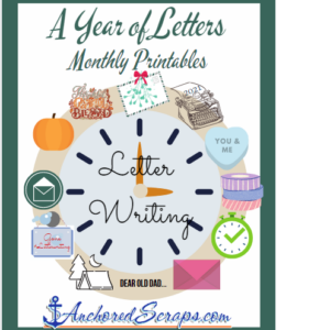 A Year of Letters Monthly Printables 2021