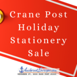 Read more about the article Crane Post Holiday Stationery Sale Underway