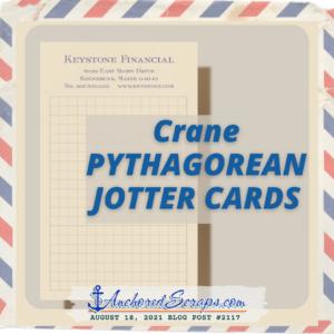 Crane PYTHAGOREAN JOTTER Cards