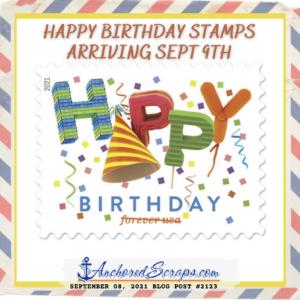 Happy Birthday Stamps 2021