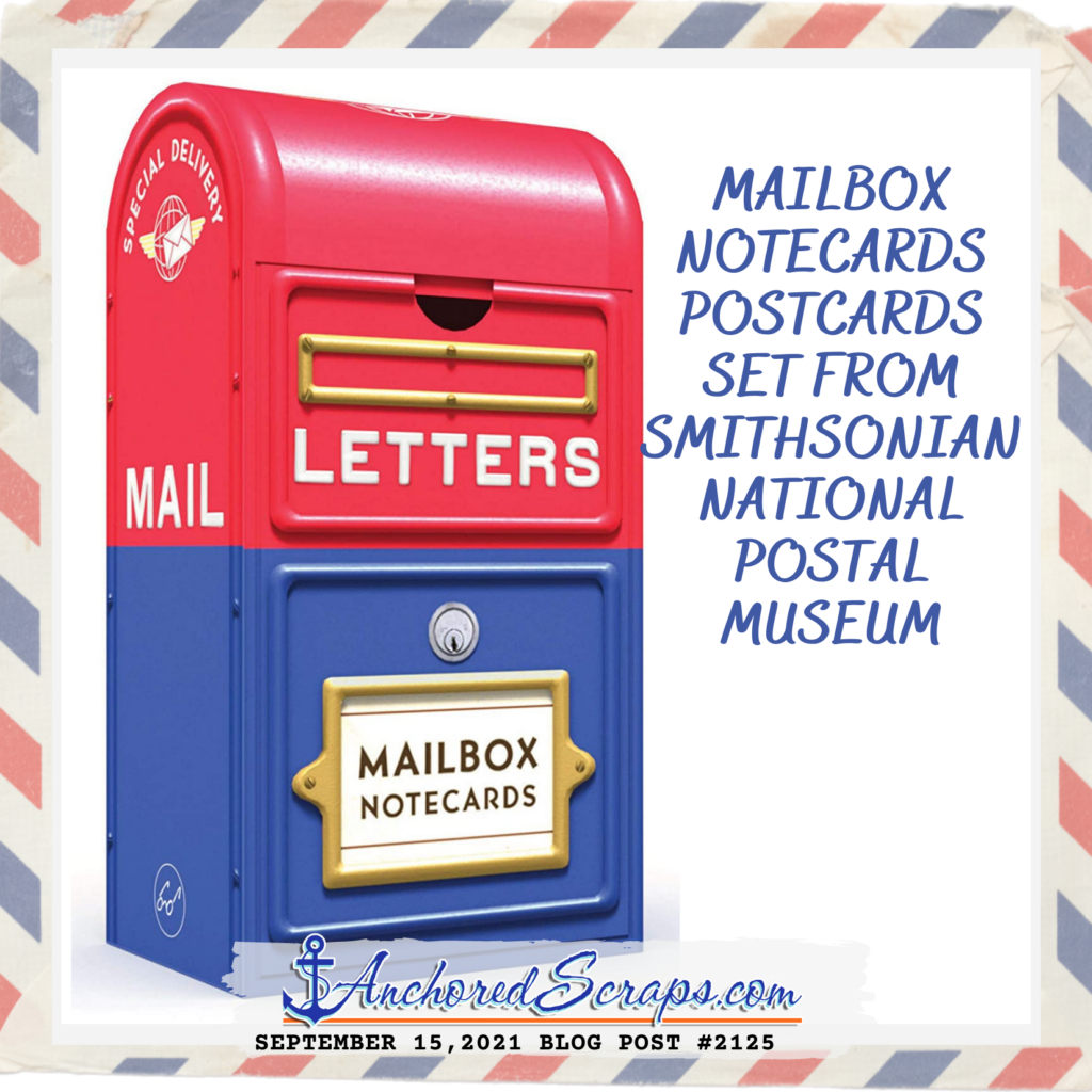 Discovering the Mailbox Notecards Postcards Set from Smithsonian National Postal Museum