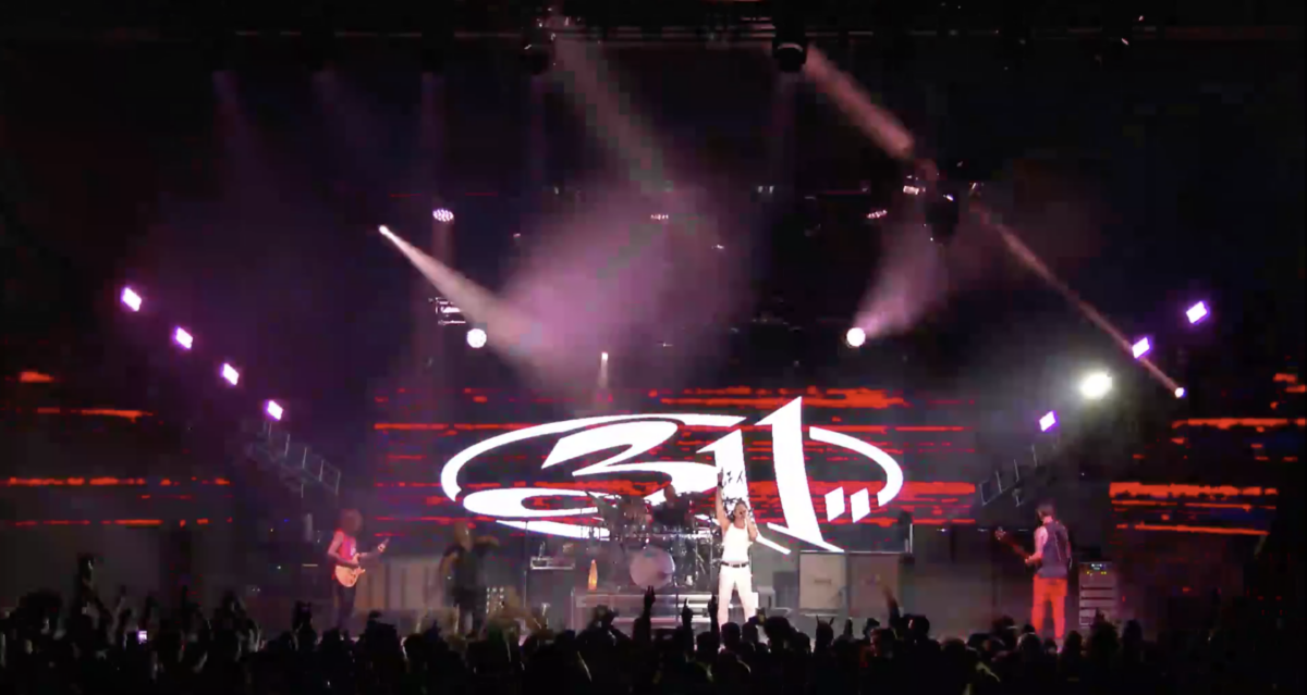 311 at Pinewood Bowl in Lincoln, Neb.