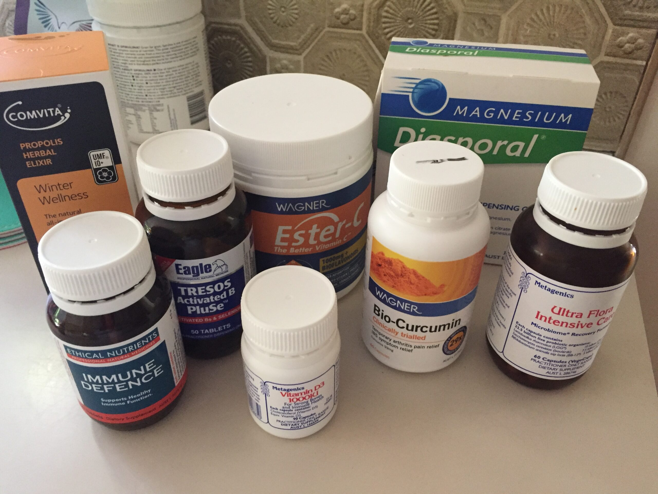 I woke up with a sore throat… Want to see what I am doing about it?