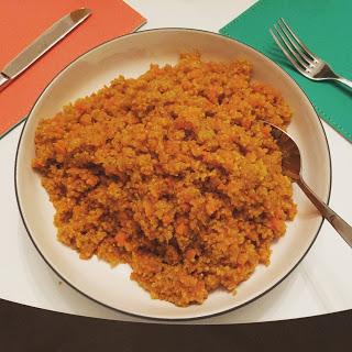 Immune boosting Turmeric Quinoa