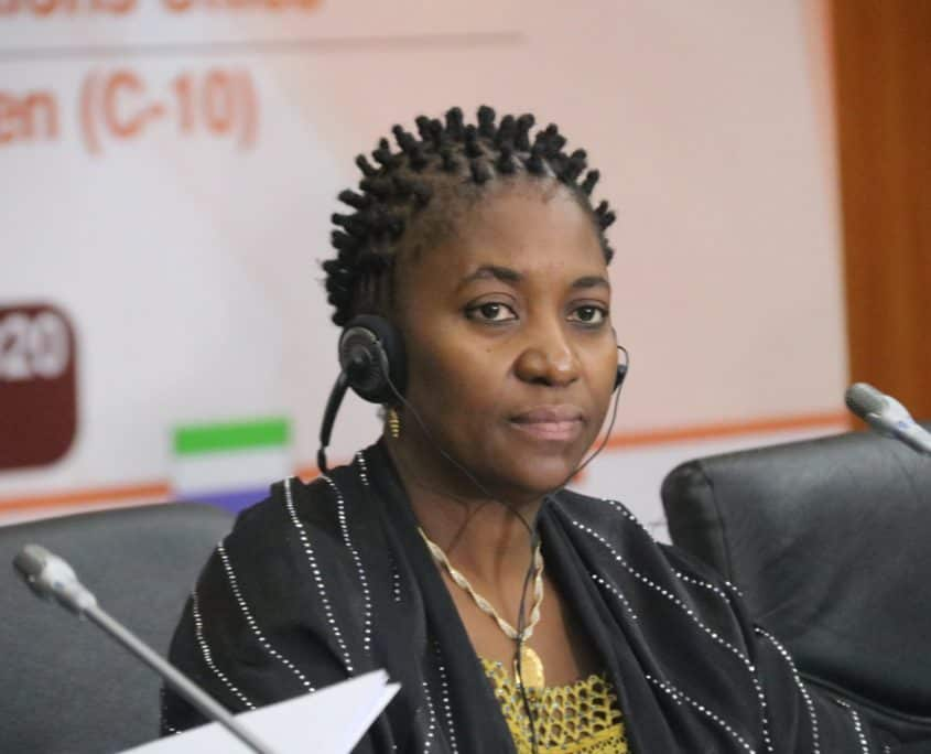 Sierra Leone Foreign Minister Chairs C-10 Ministerial Meeting in Dakar