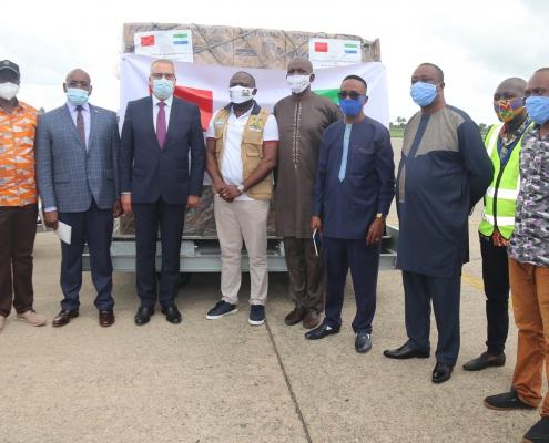 Kingdom of Morocco donates medical items