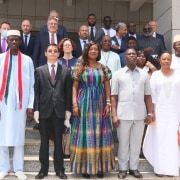 New Foreign Minister meets with members of the diplomatic corps