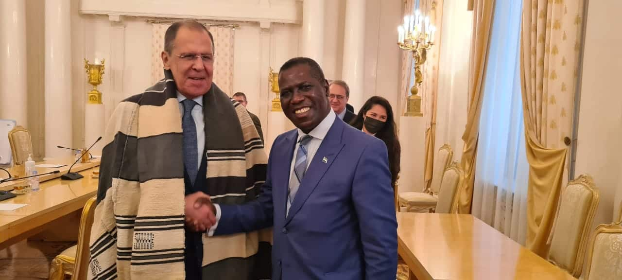 Sierra Leone's Foreign Minister Deepens Bilateral Relations With Russian Federation