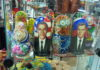 Obama and Medvedev Russian (matroshkis) stacking dolls