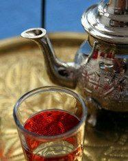 Arabic tea glass