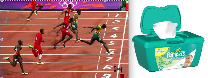 Olympian baby wipes