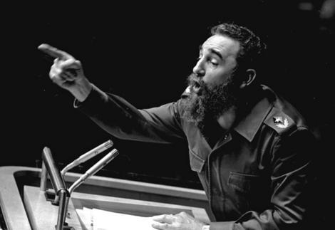 One of Fidel Castro's speeches.