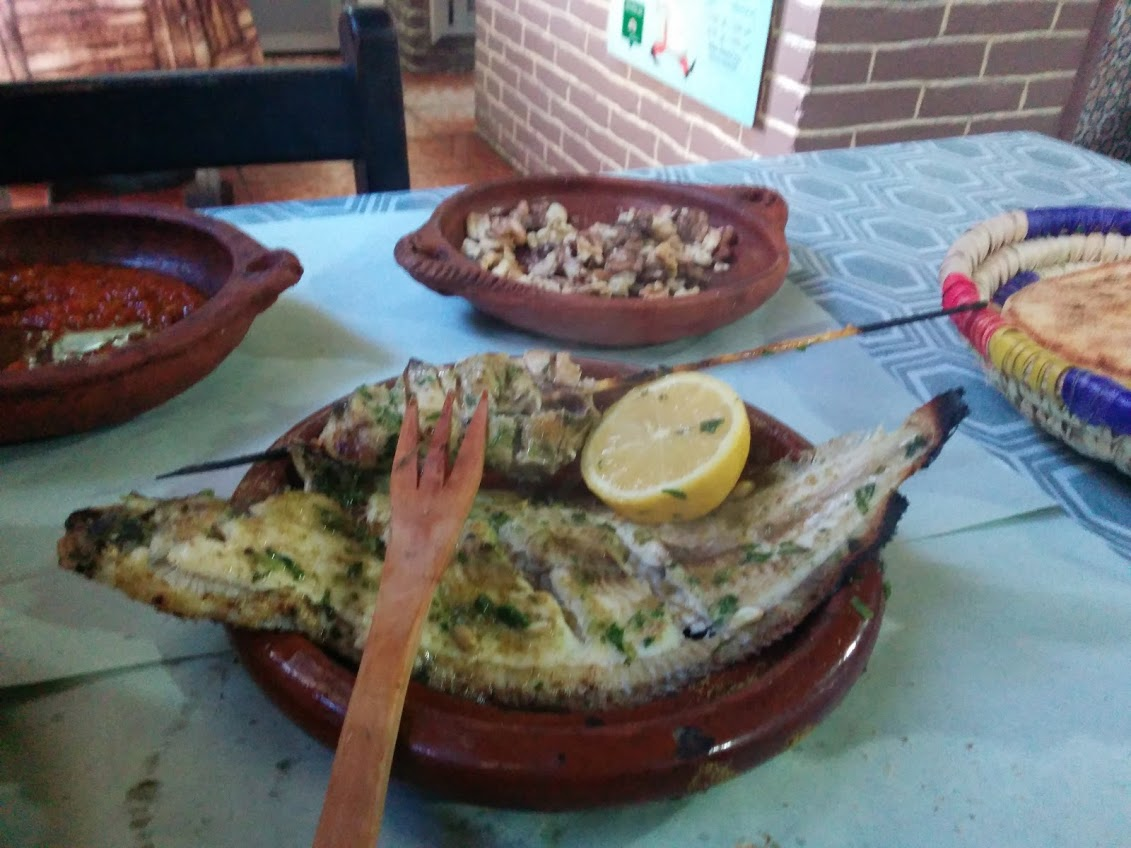 Moroccan fish restaurant