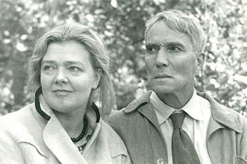Irina Ivinskaya and Boris Pasternak