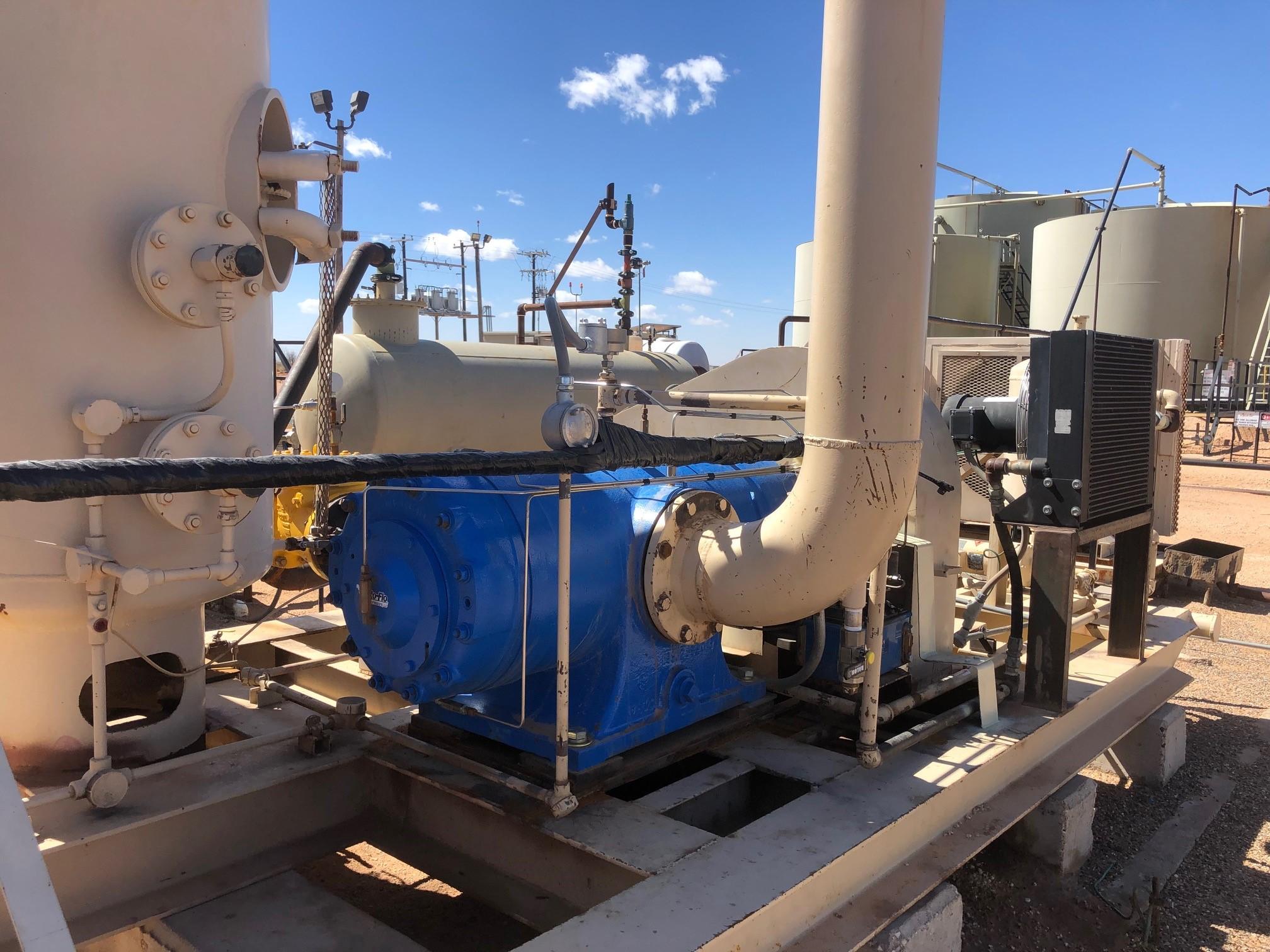 vapor recovery compressor
