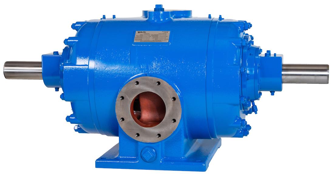 blue Rotary Sliding Vane Compressor