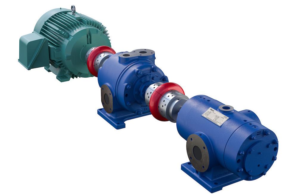 two stage high pressure compressor
