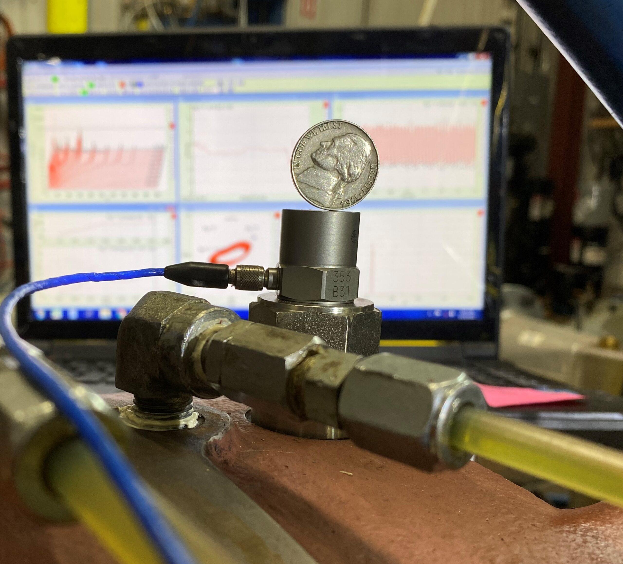 compressor vibration measurement