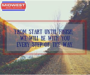 From start to finish, we'll be there every step of the way.