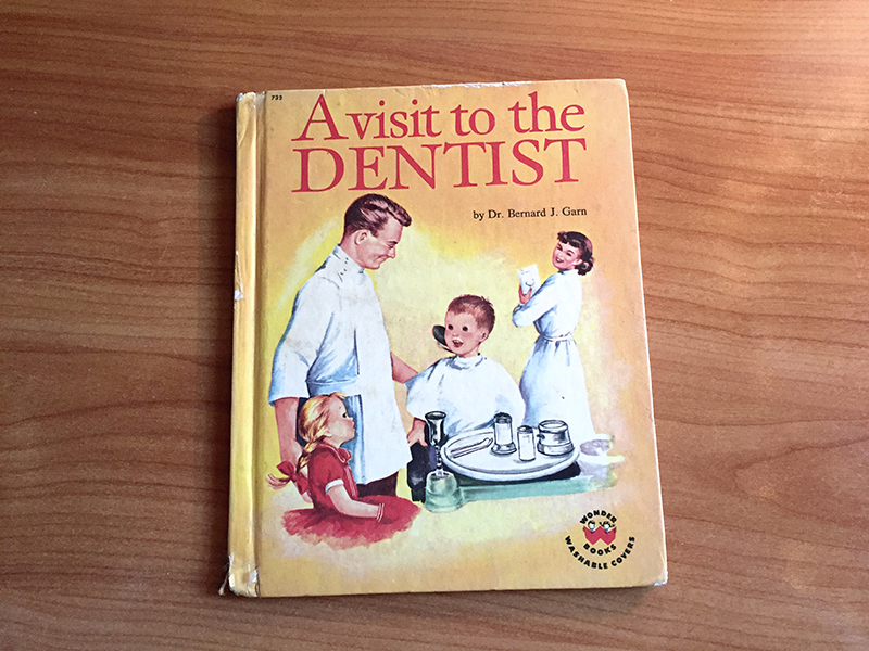 children's book about a visit to the family dentist