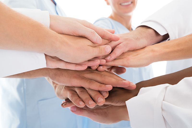 dental clinic team pledge to patients