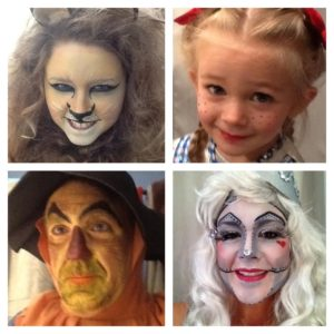 My family, as The Wizard of Oz characters