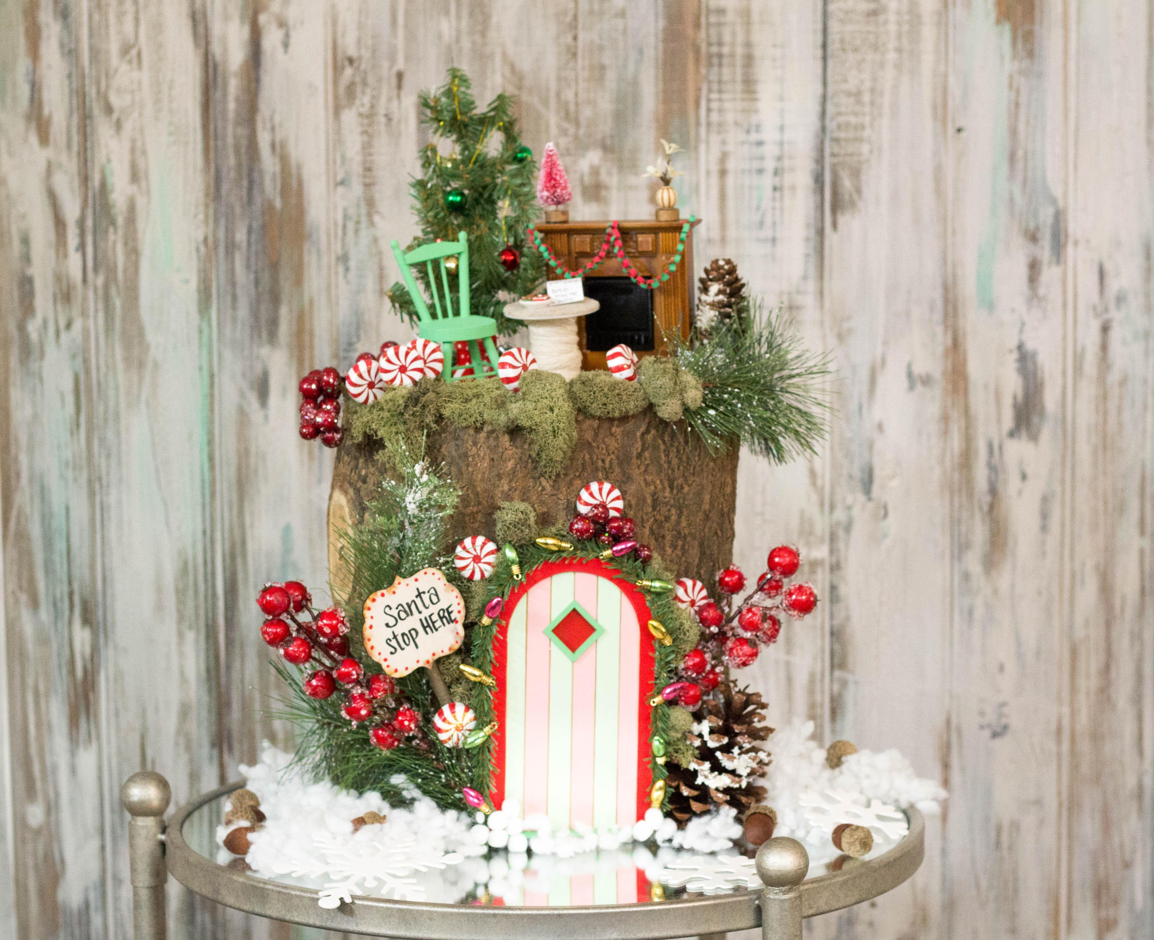 Christmas Fairy House