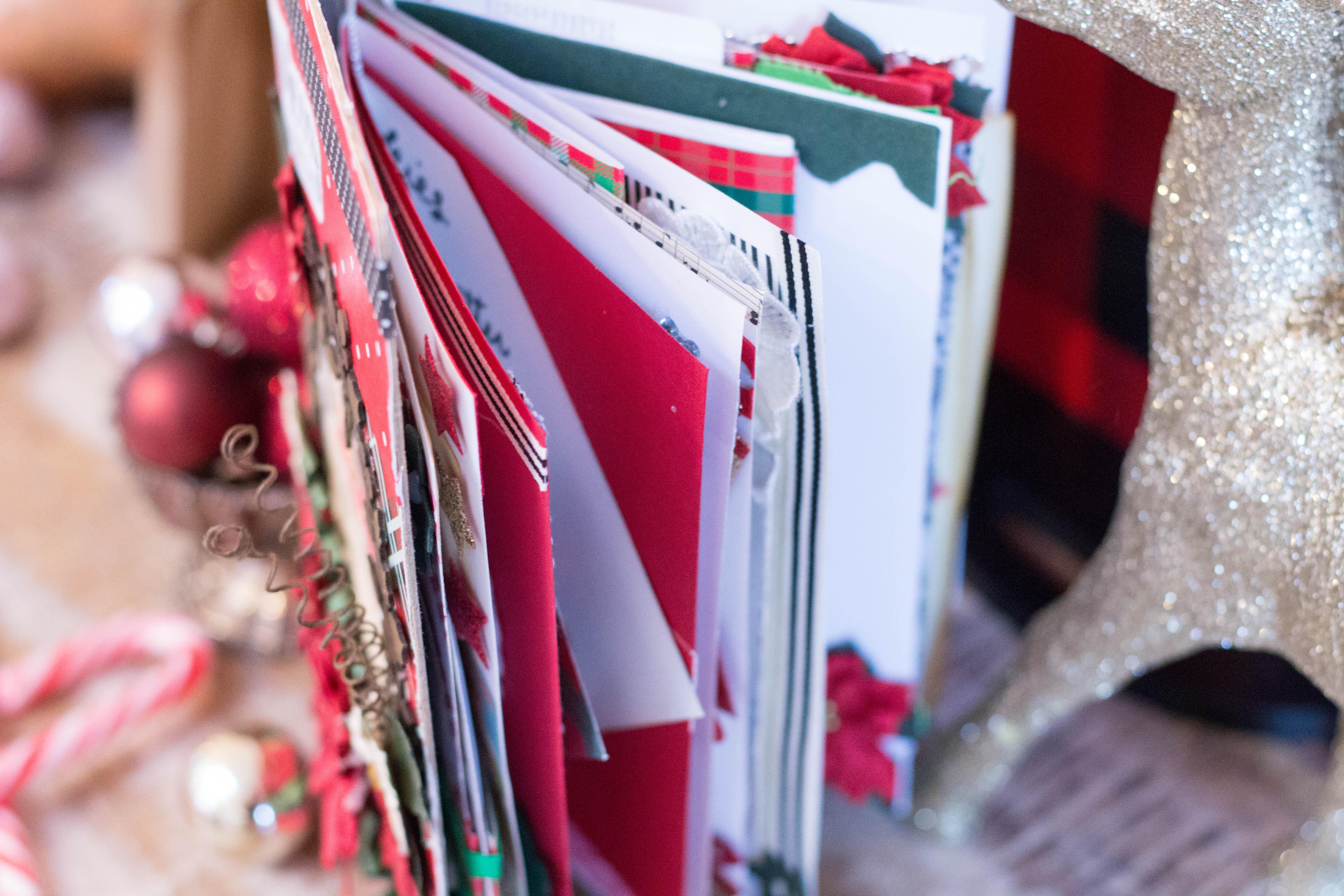 christmas junk journal