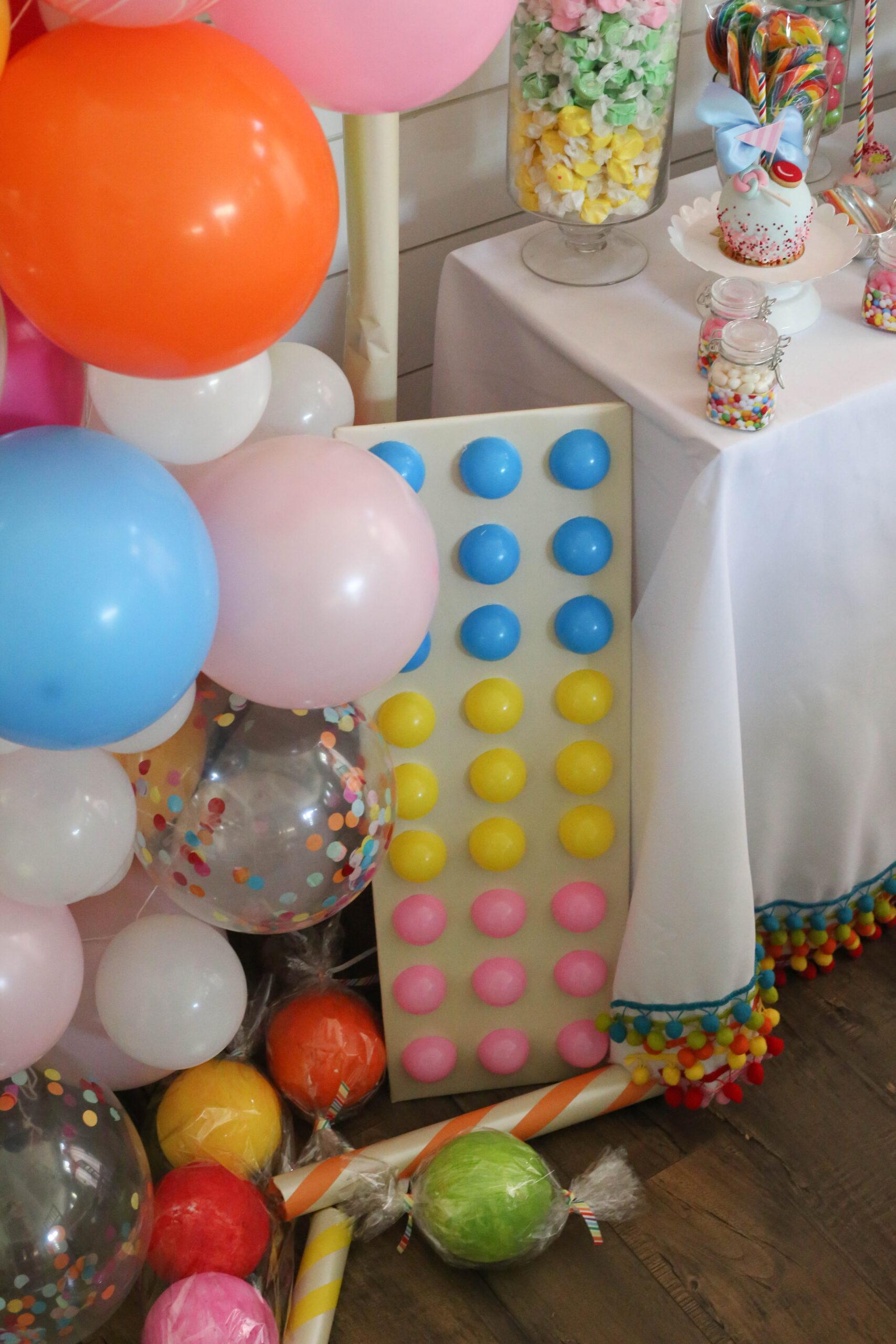 life sized candy decor