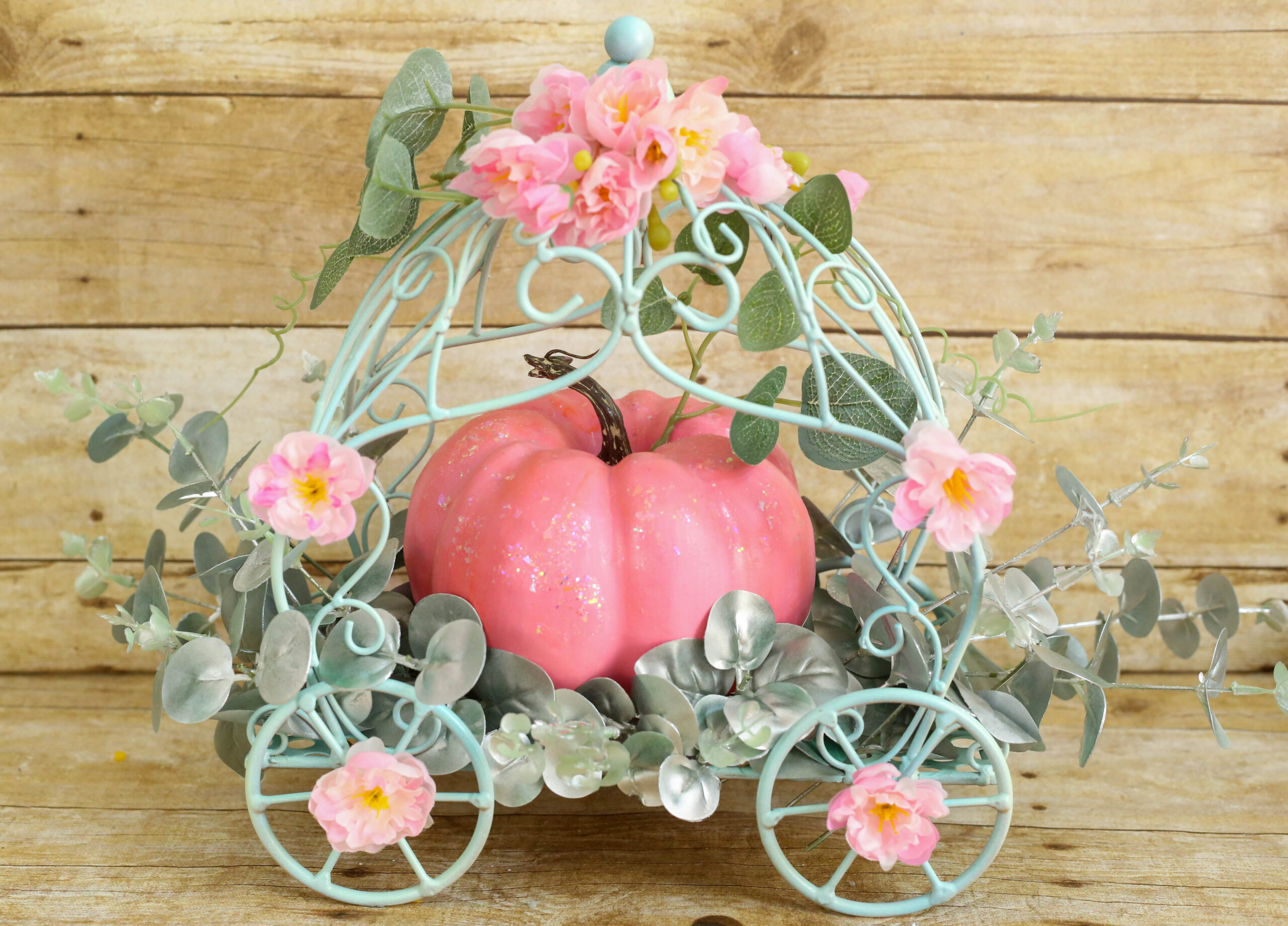 Cinderella Carriage with Flowers