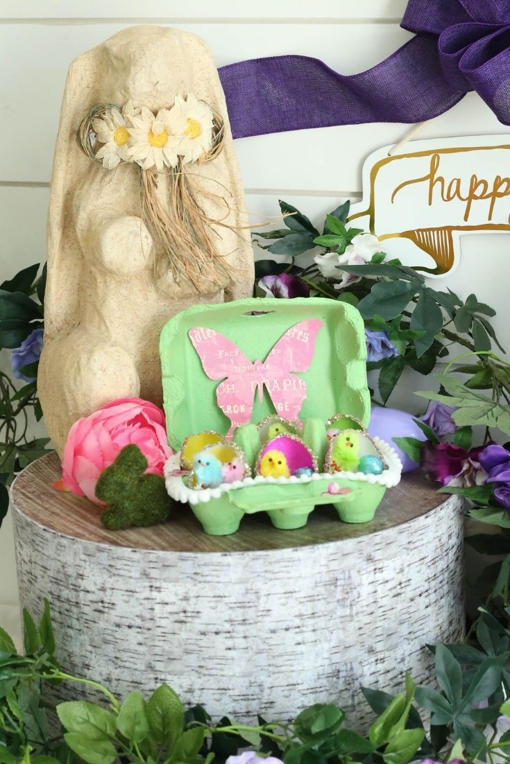 easter craft and display