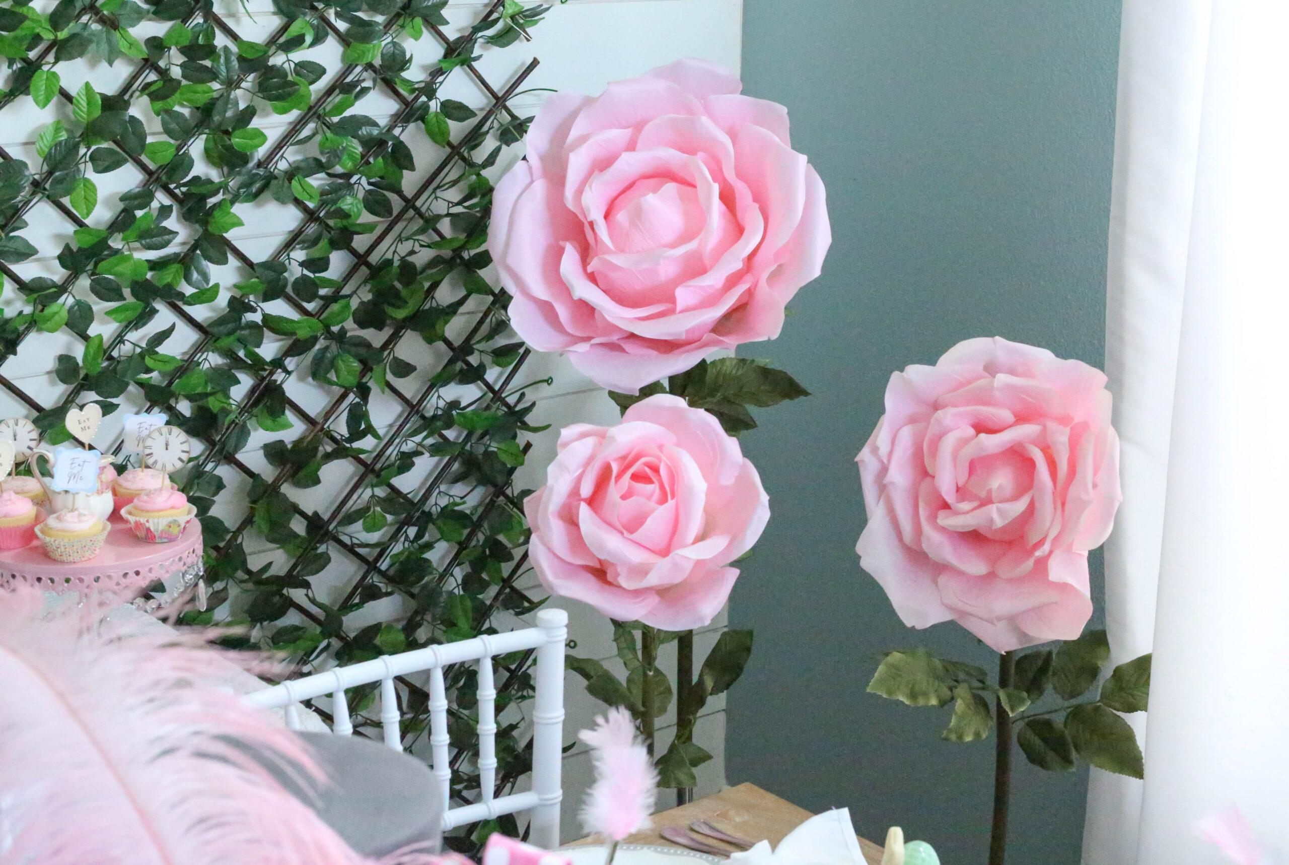 giant flower decor
