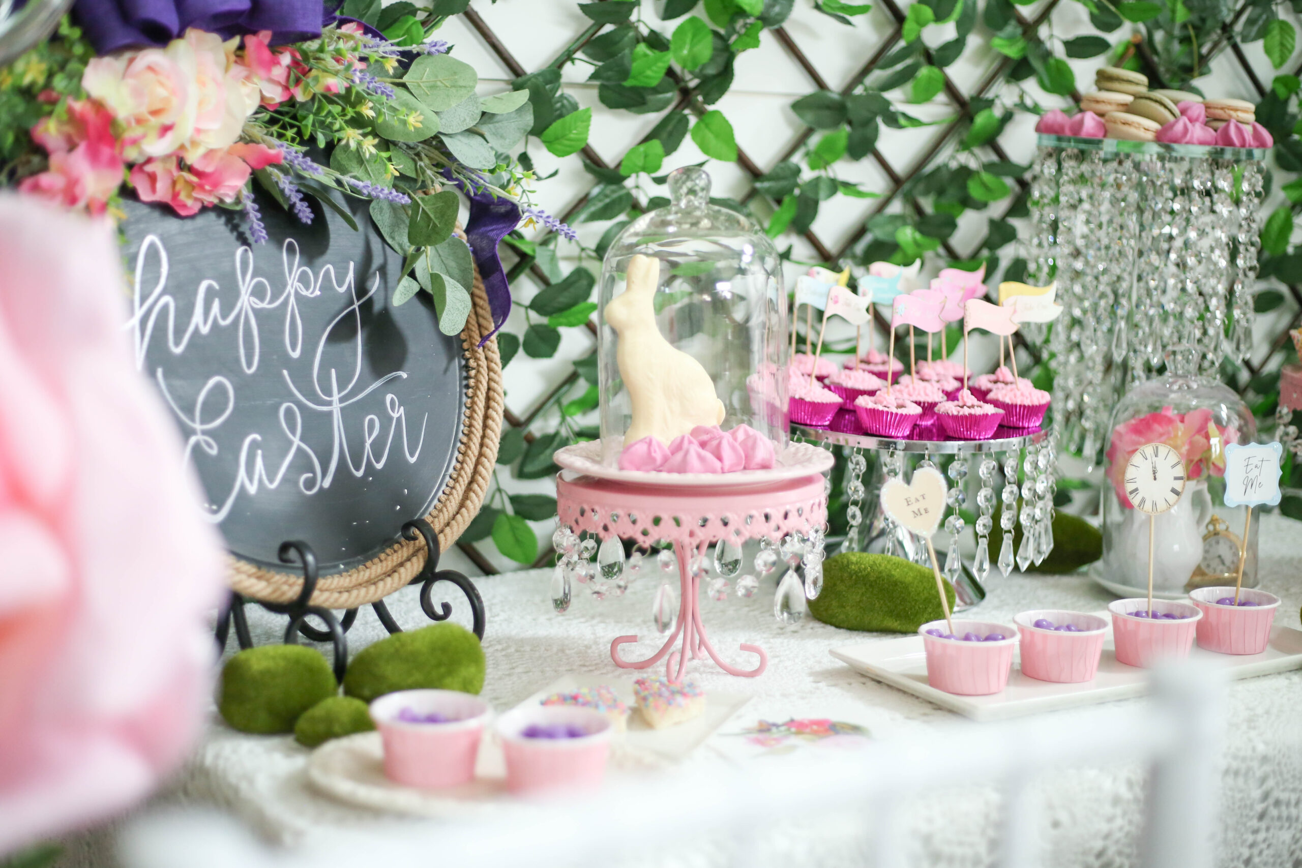 easter dessert selection