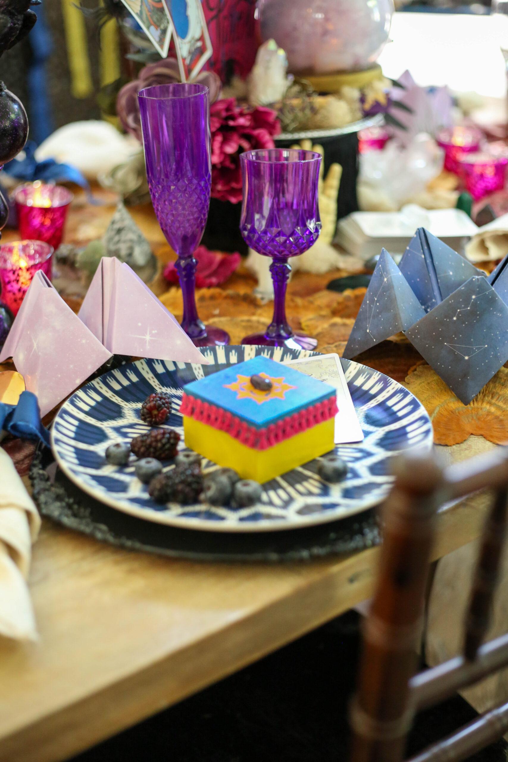 fortune teller table setting