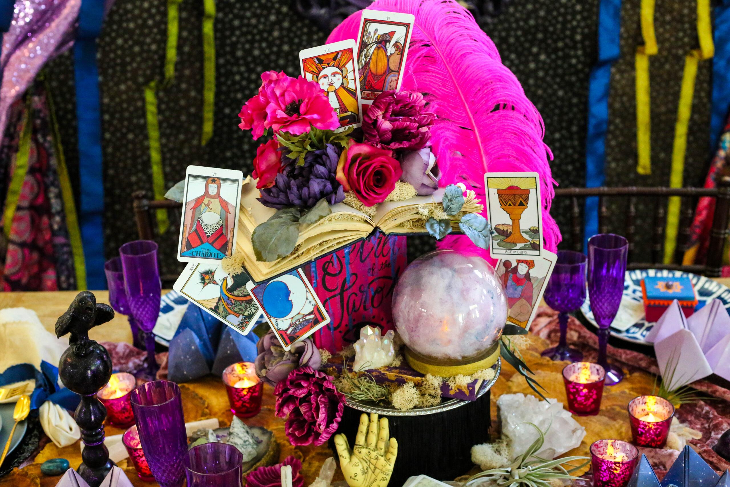 fortune teller centerpiece