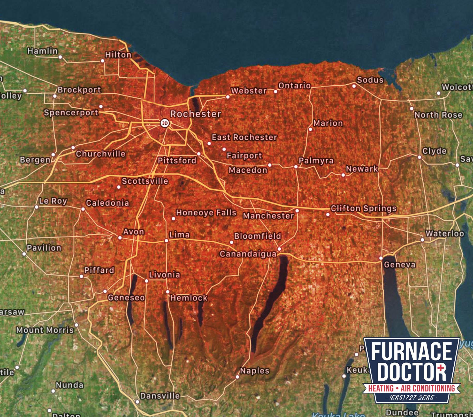 Furnace-Doctor Service-Area