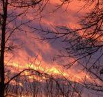Claresholm sunset square