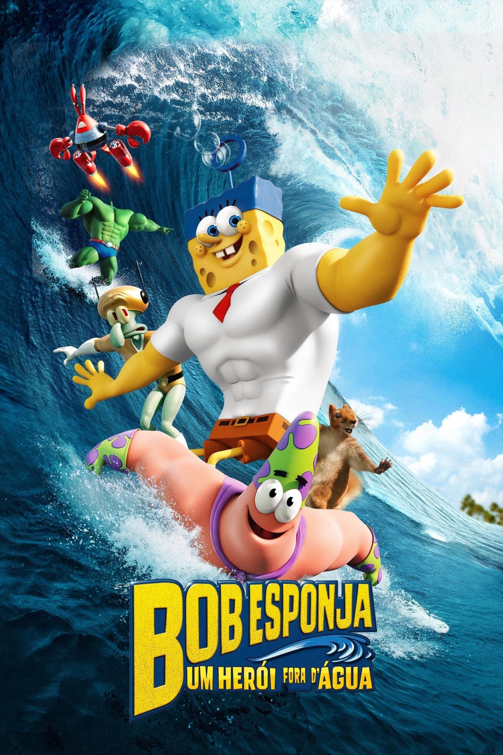Bob Esponja um herói fora d'água