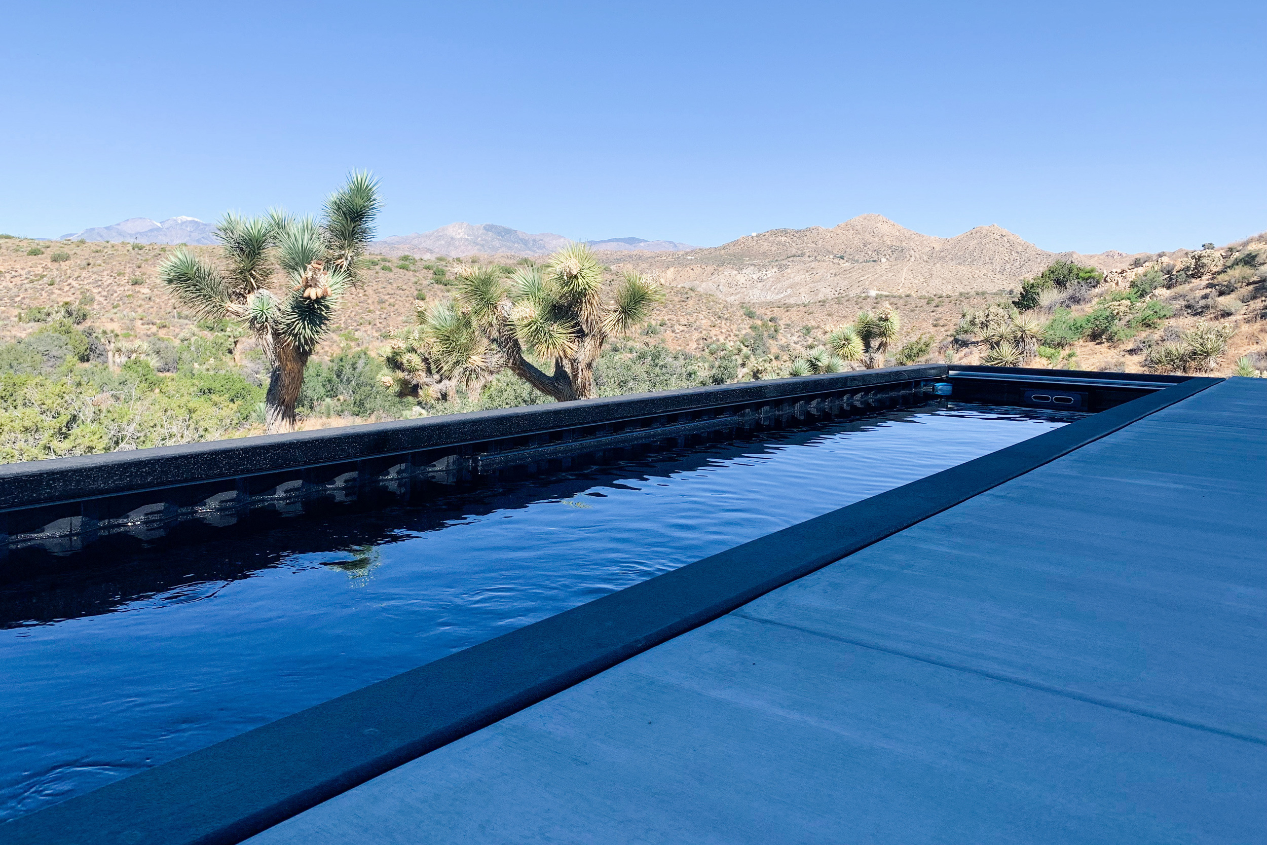 Shipping Container Pool - California