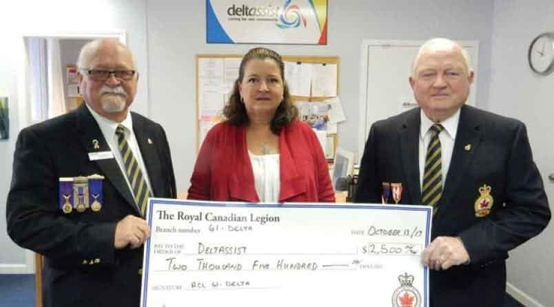 Michigan Broadband Services donates $2,500 to the Delta Animal Shelter