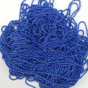 Dark blue ball chain
