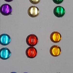 Kundans round stones 8 mm