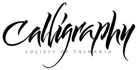 Calligraphy Society of Tasmania Logo