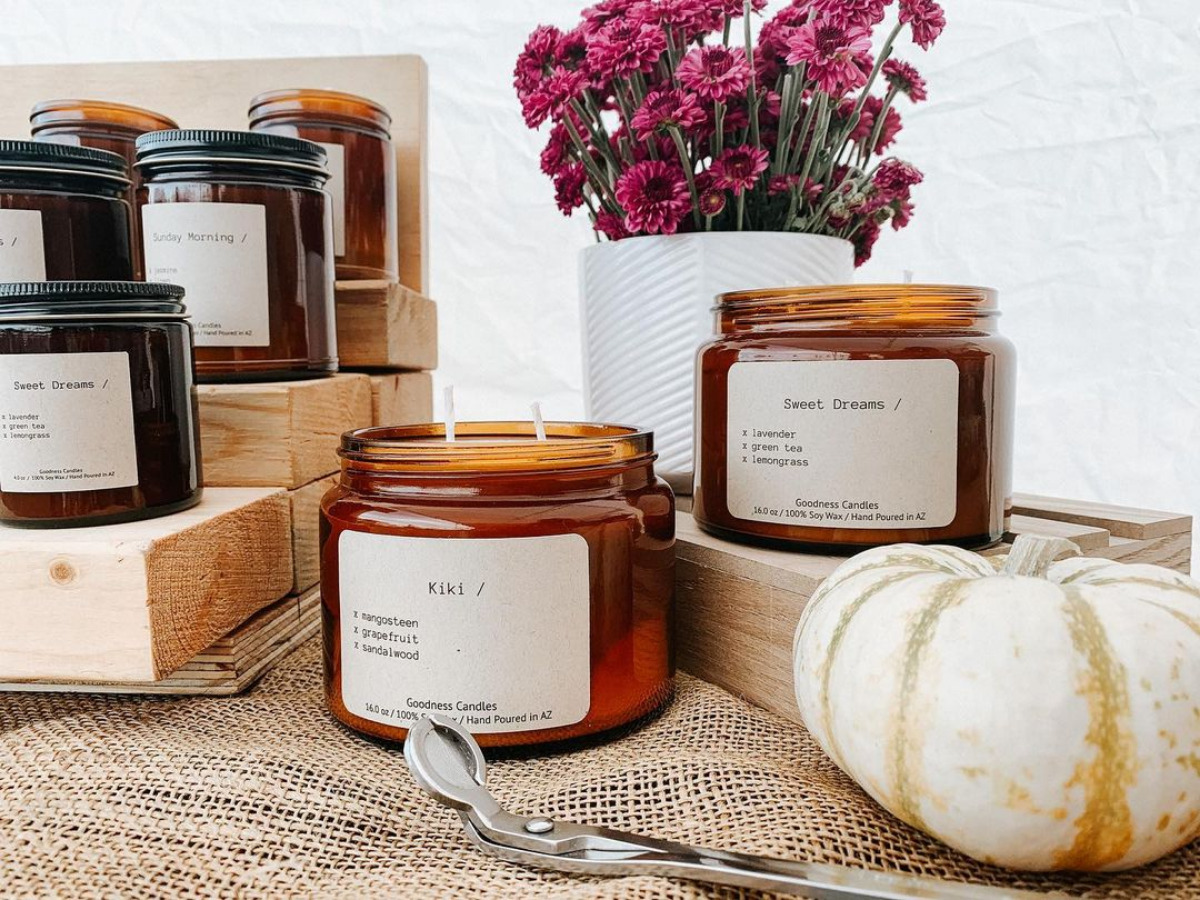 Thank Goodness for Handmade and Sustainable Goodness Candles