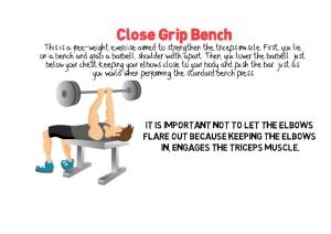 Close Grip Bench