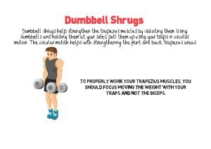 Dumbbell Shrugs