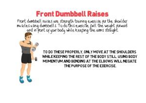 Front Dumbbell Raises