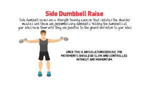 Side Dumbbell Raise