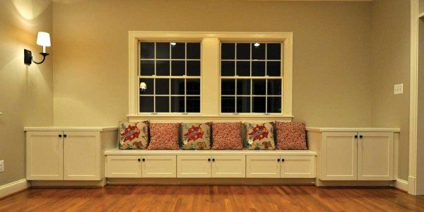 Living room remodeling in Fairfax & Northern Virginia; home addition