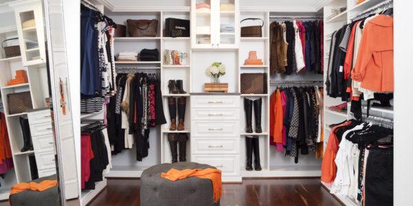 Luxury walk-in closet remodel in Northern VA, MD, DC